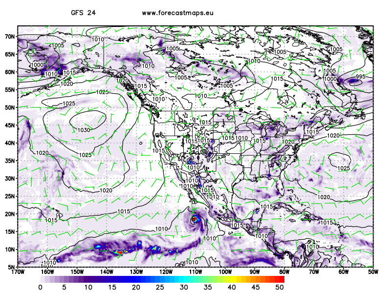 North America  GFS