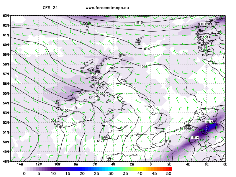 United Kingdom  GFS